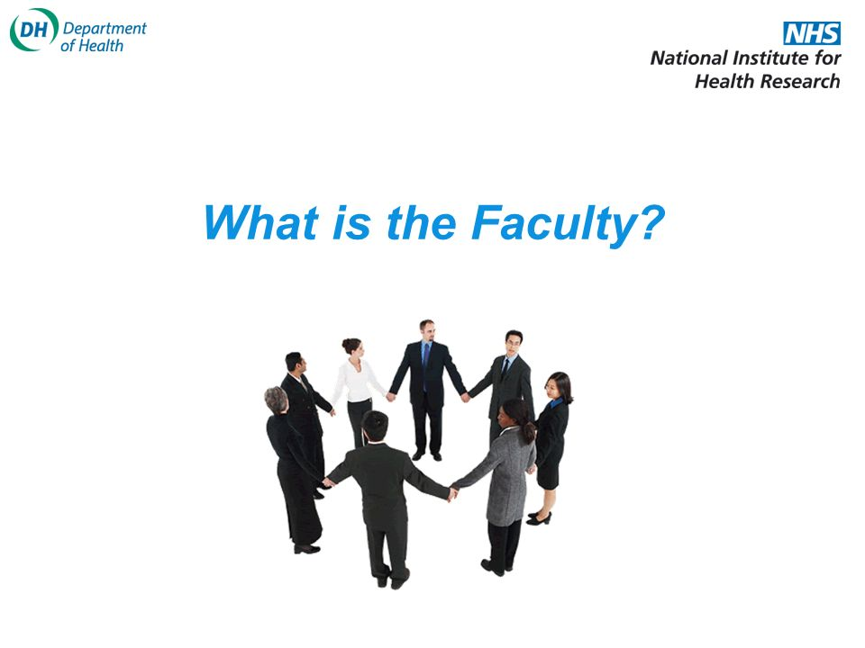 What is the Faculty