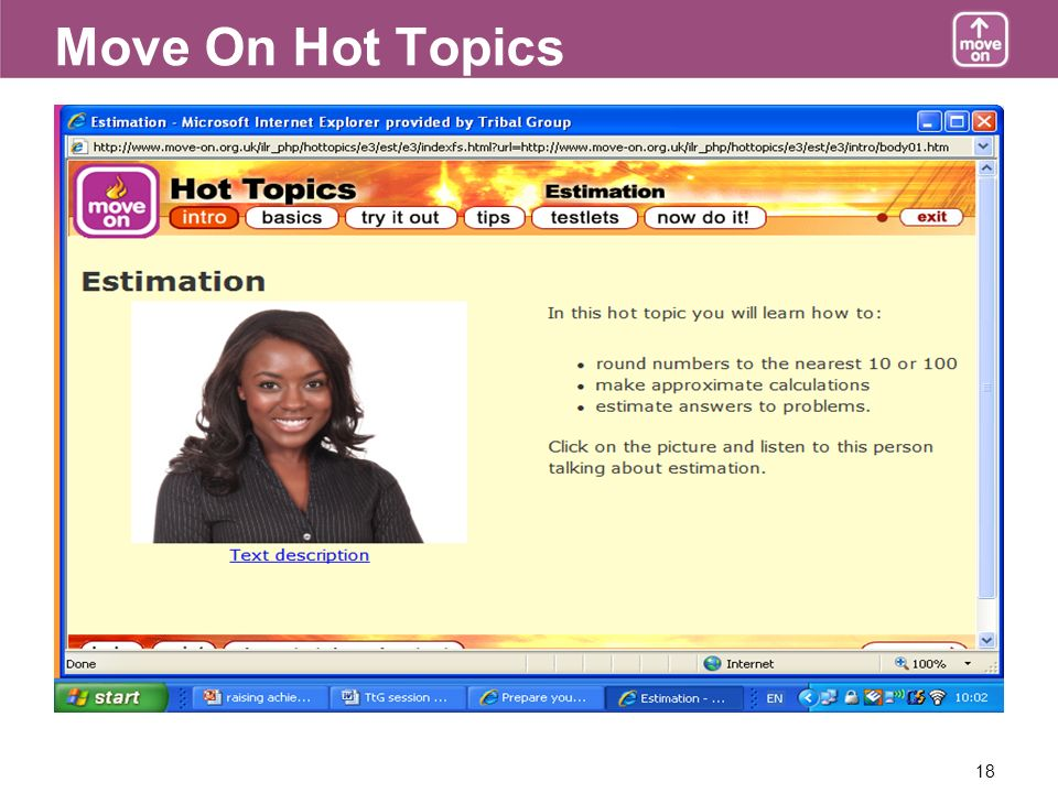 18 Move On Hot Topics