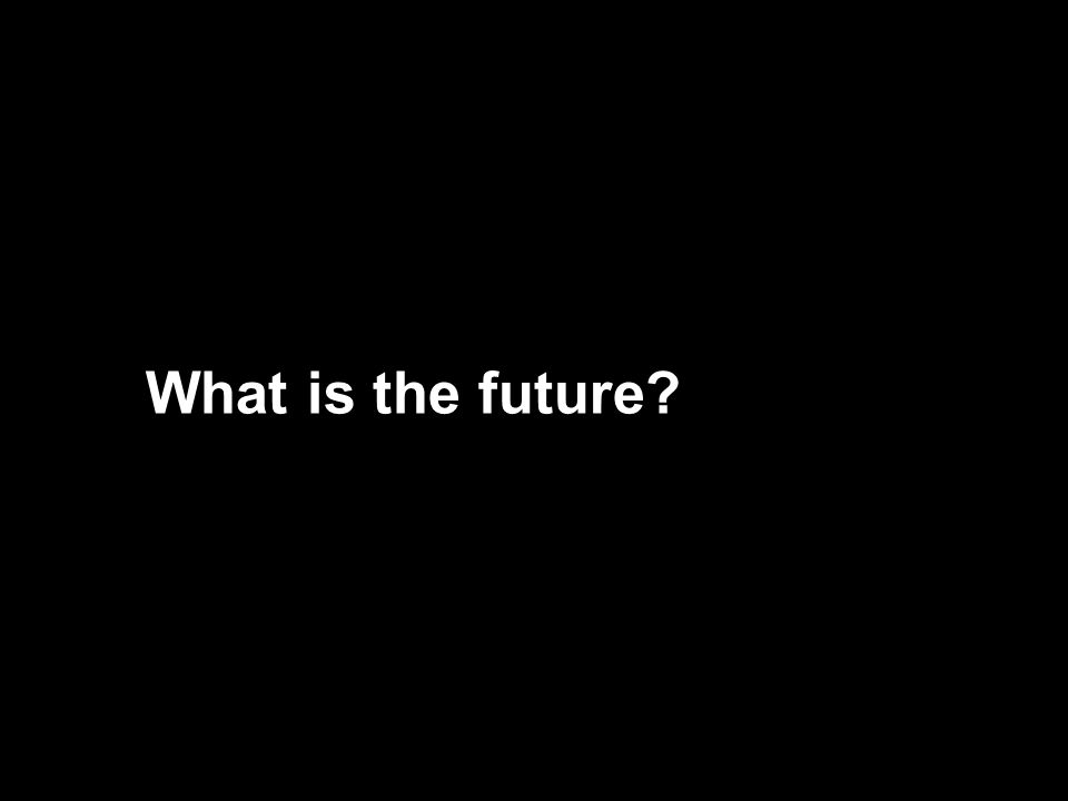 What is the future