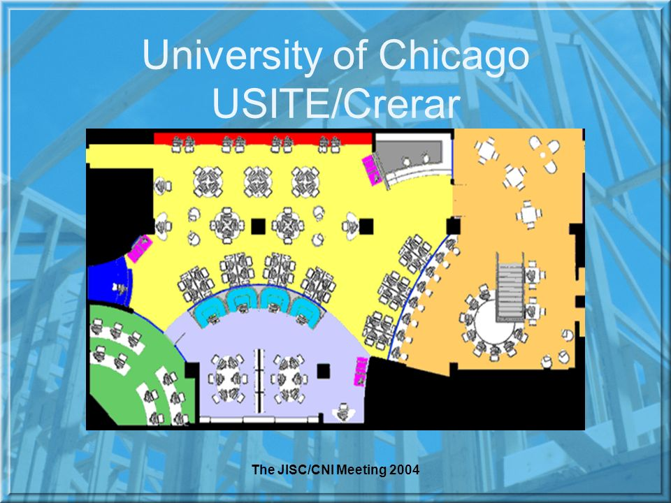 The JISC/CNI Meeting 2004 University of Chicago USITE/Crerar