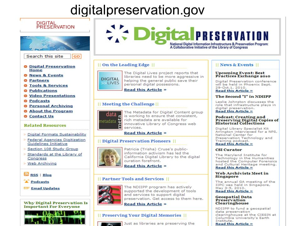 digitalpreservation.gov