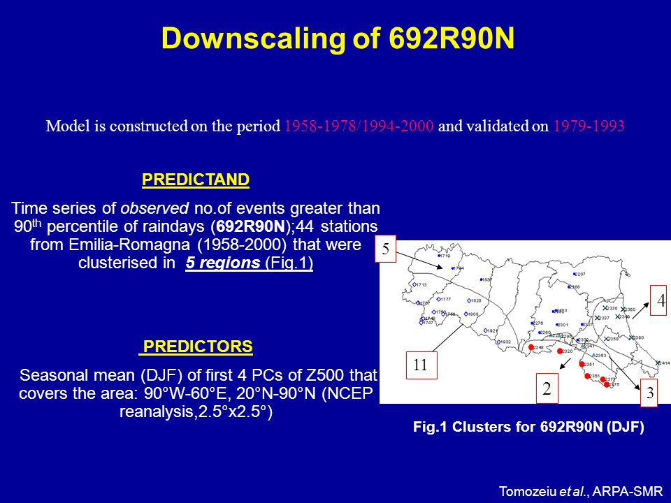 Downscaling of 692R90N – 2 exp.
