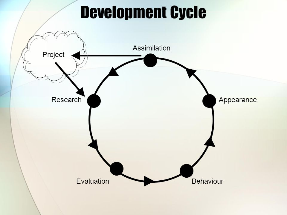 Development Cycle Research EvaluationBehaviour Appearance Assimilation Project