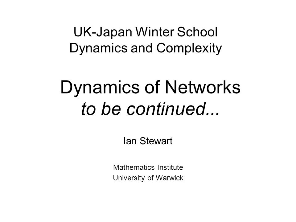 [with M.Golubitsky and M.Pivato] Symmetry groupoids and patterns of synchrony in coupled cell networks, SIAM J.