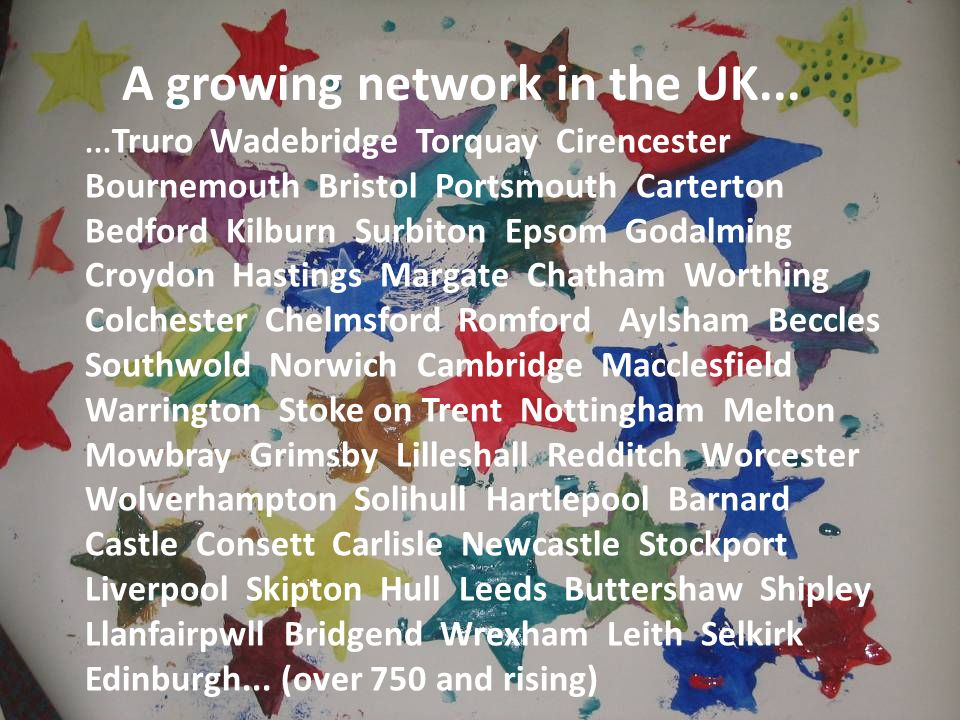 A growing network in the UK......