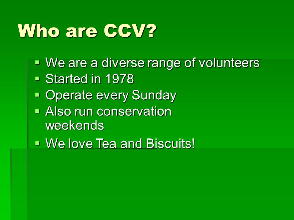 Who are CCV.