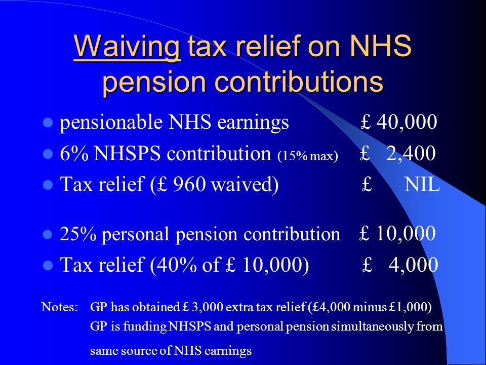 Who can fund personal pensions.