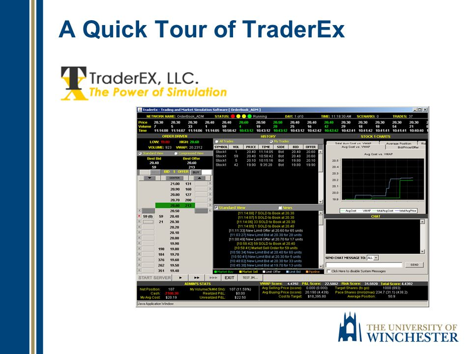 A Quick Tour of TraderEx