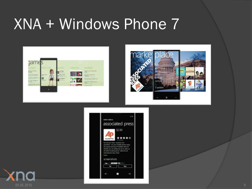 XNA + Windows Phone 7 09.06.20109