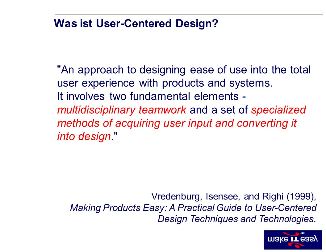 Was ist User-Centered Design.