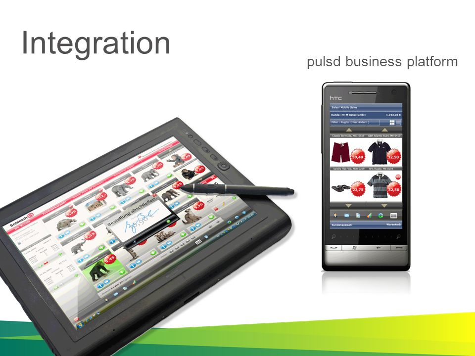 Integration pulsd business platform