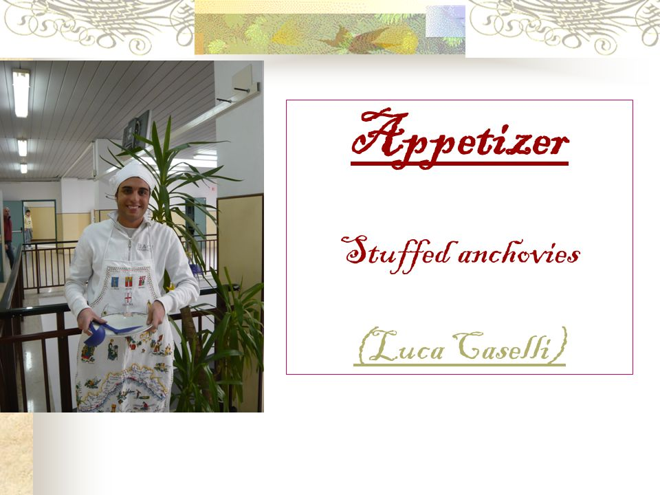 Appetizer Stuffed anchovies (Luca Caselli)