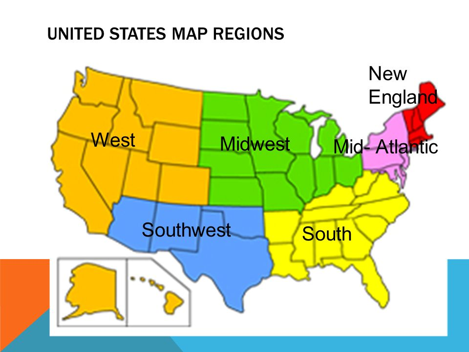 Mid Atlantic States Map.United States History Region Project Monday August 25 Ppt Download