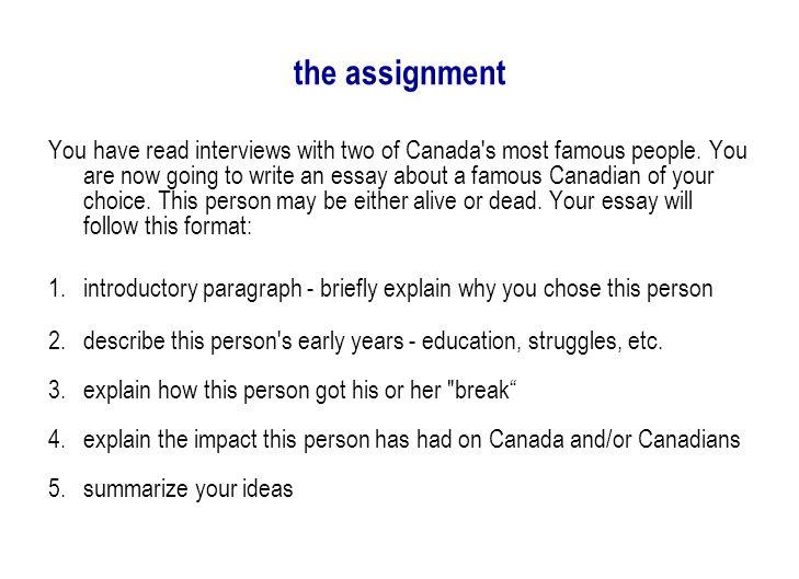 post confederation canada essay topics