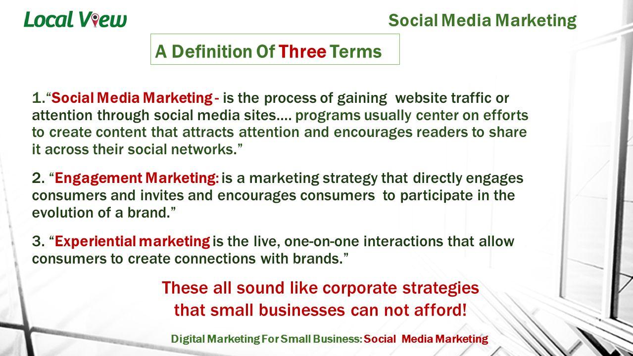 social media topics for presentation