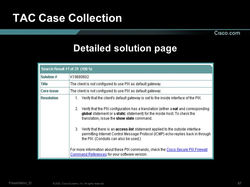 1 Session Number Presentation_ID © 2002, Cisco Systems, Inc  All
