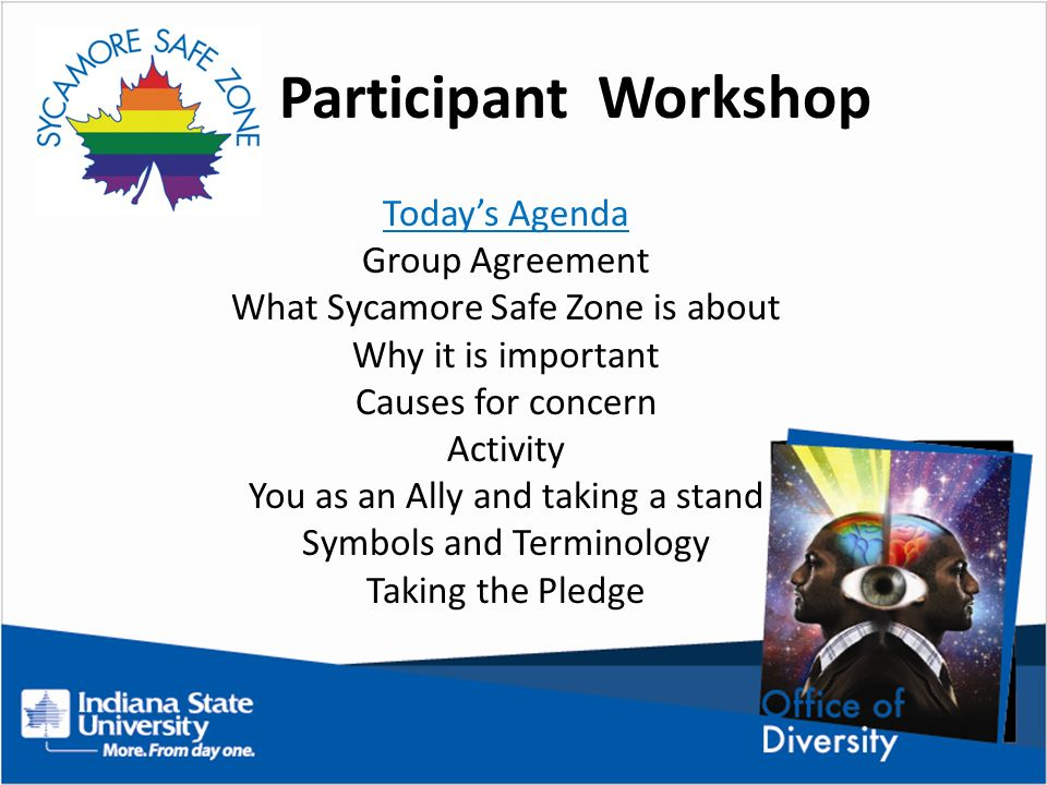 Participant Workshop Todays Agenda Group Agreement What Sycamore