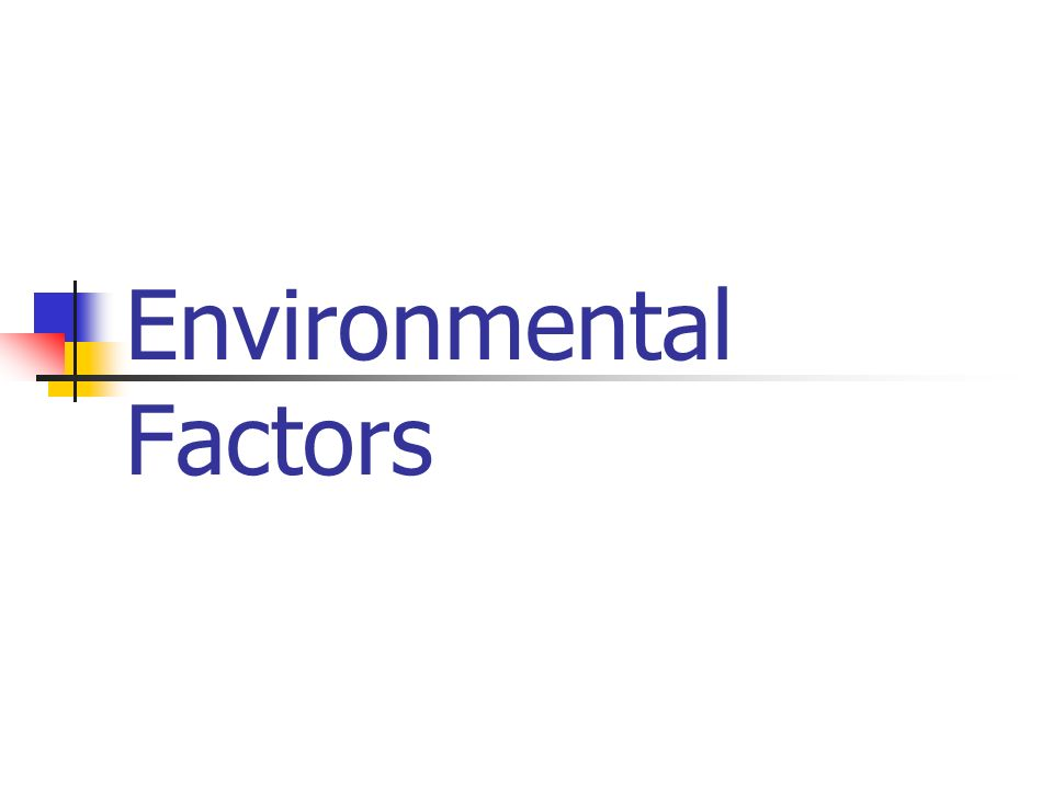 Environmental Factors As Important As >> Environmental Factors Family Interactions With Family Most