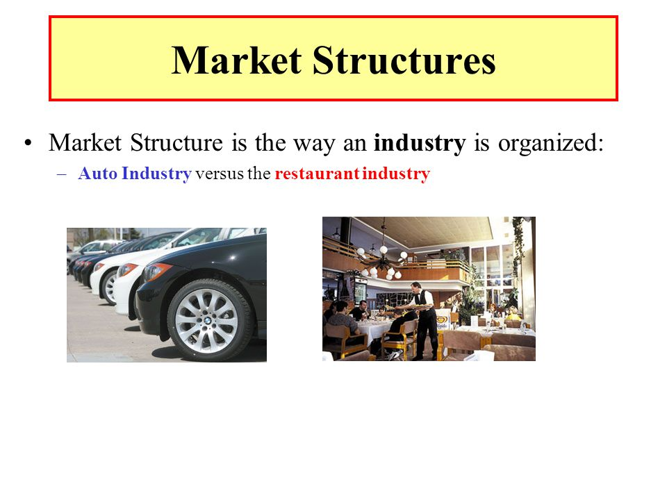 what type of market structure is the car industry