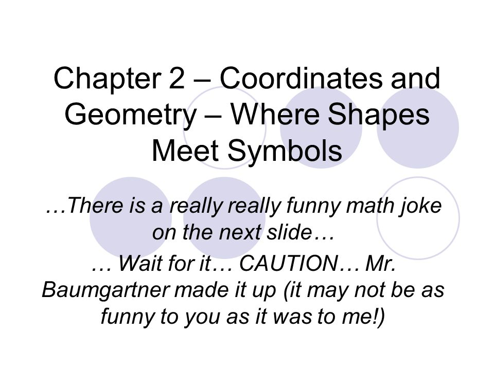 Chapter 2 Coordinates And Geometry Where Shapes Meet Symbols