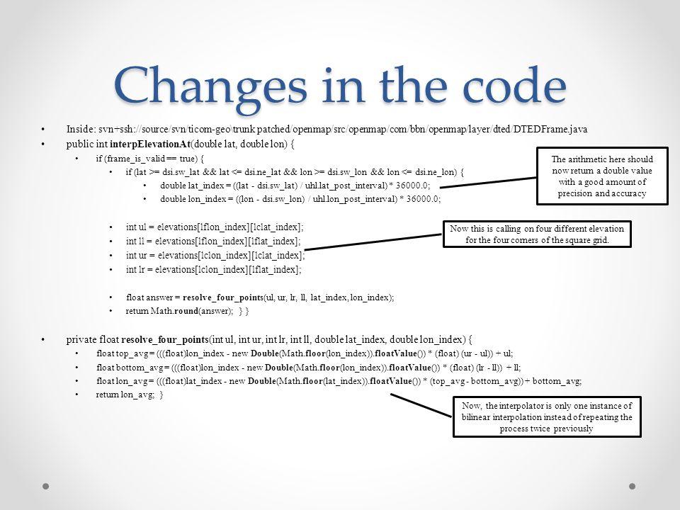 DTED Jonathan Lo 07/25/2014  Original Codes Inside: svn+ssh