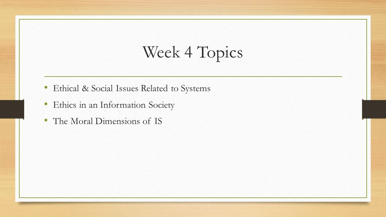 topics related to social issues