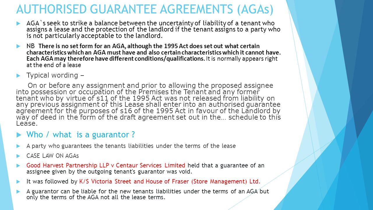 Seminar 19 Th October Aga What Is An Aga Authorised