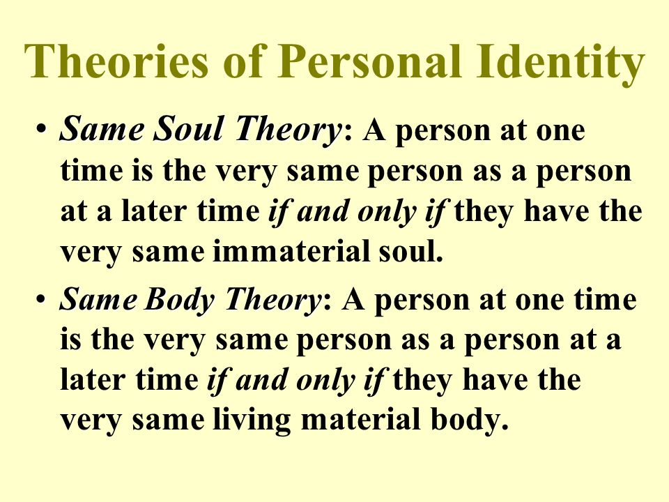 body and memory theory