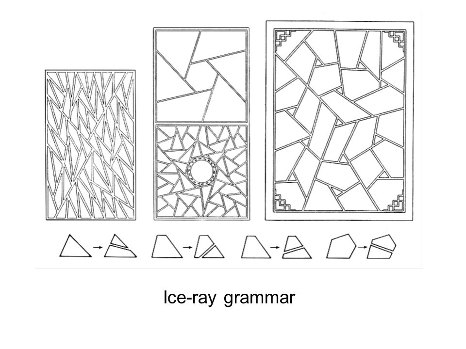 Ice-ray grammar