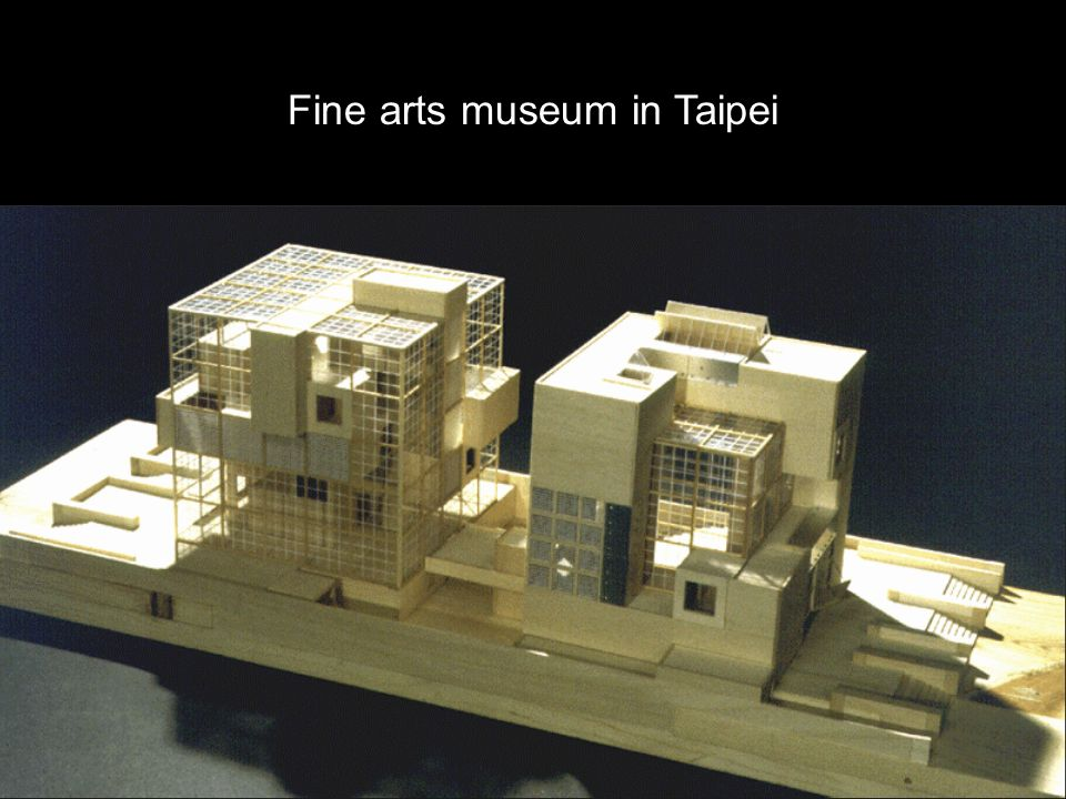 Fine arts museum in Taipei