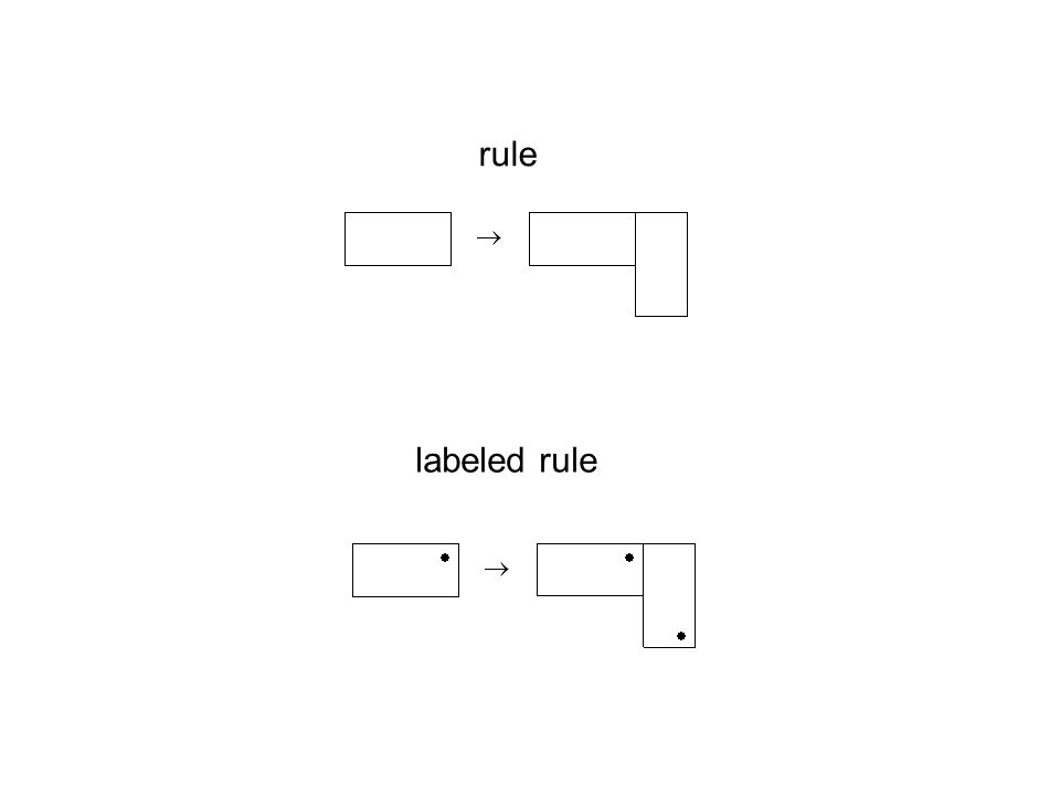 rule labeled rule