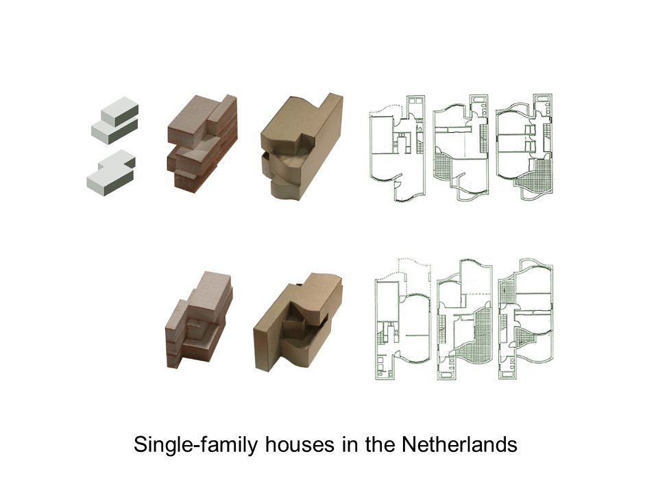 Single-family houses in the Netherlands