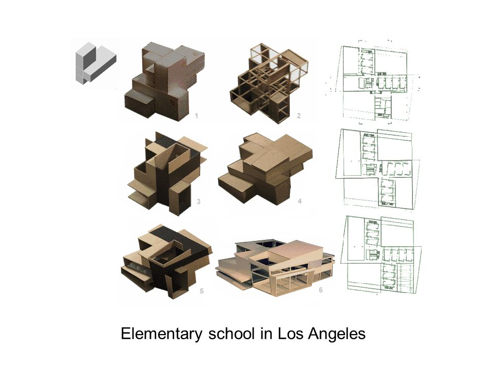 Elementary school in Los Angeles
