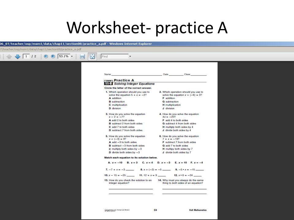Online math book 6 7 8 grade holt mcdougal 2010 teacher edition 42 worksheet practice a fandeluxe Choice Image