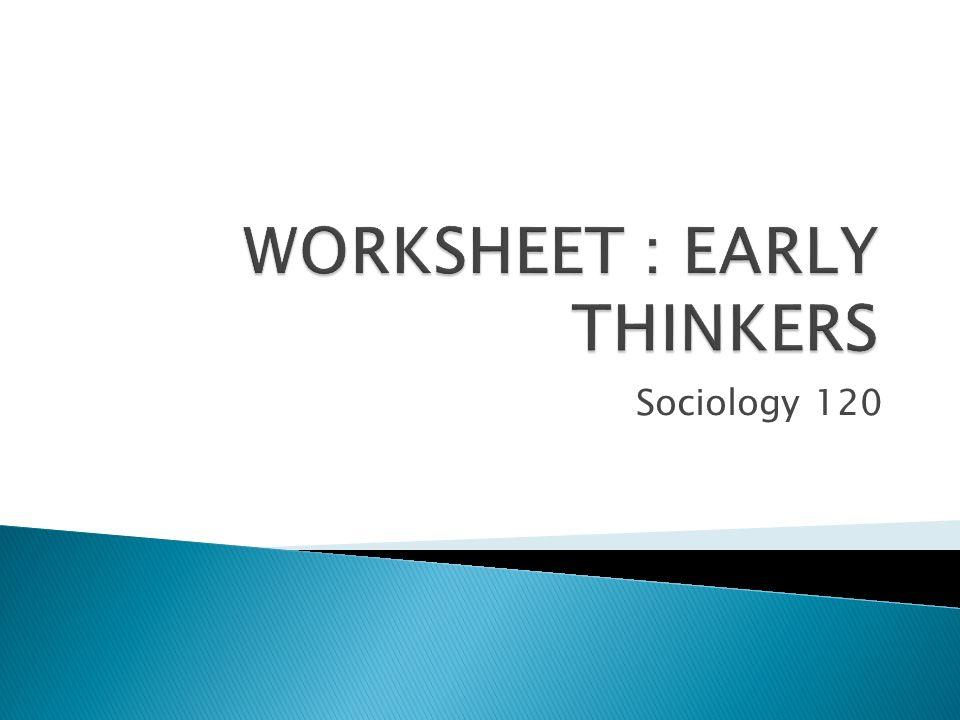 sociology 120