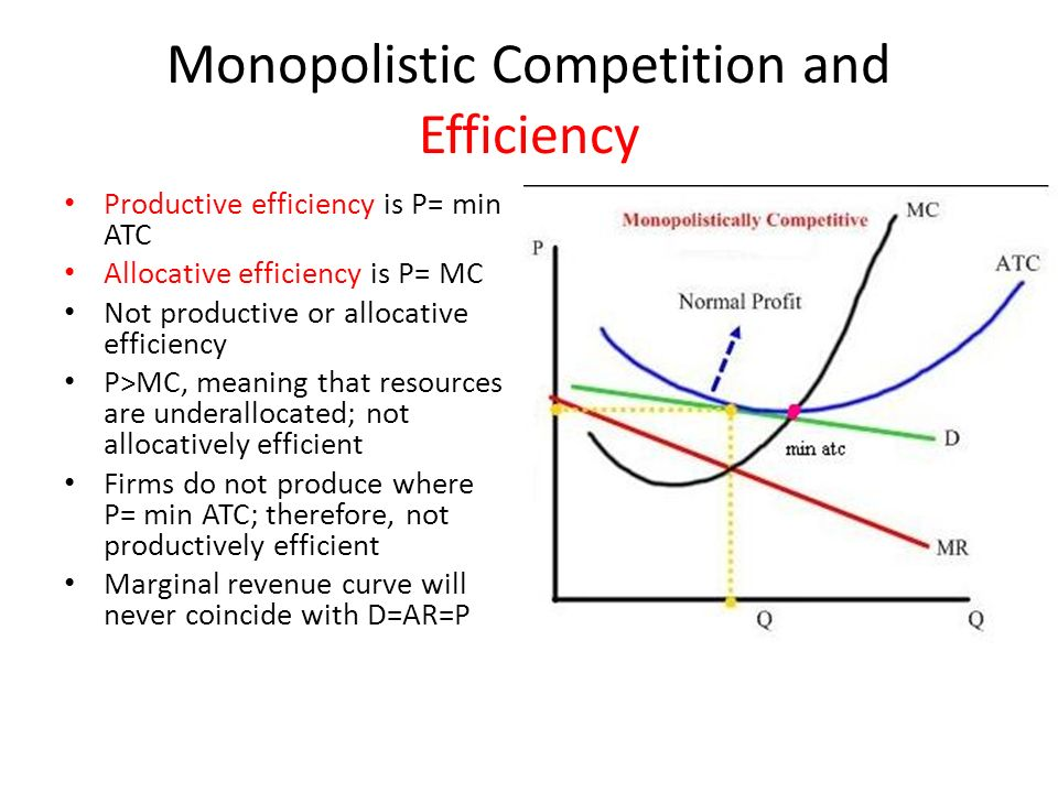Monopolistic Competition & Oligopoly  Characteristics of