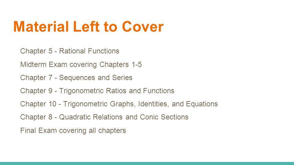 Algebra II Trig Honors Periods 2 And 4 Grade Breakdown