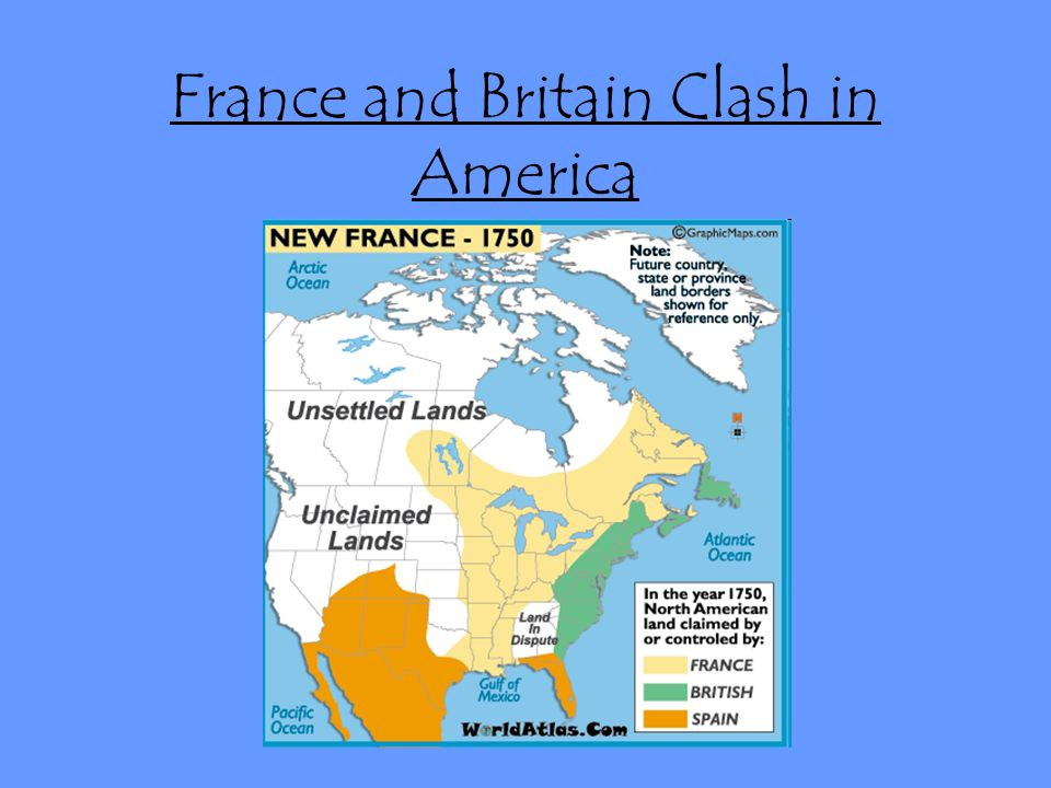 France and britain clash in america england and france competing to 1 france gumiabroncs Choice Image