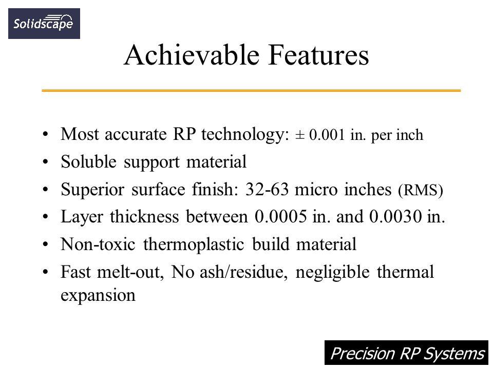 Precision RP Systems Drop-On-Demand Jet Technology (DODJET) - ppt