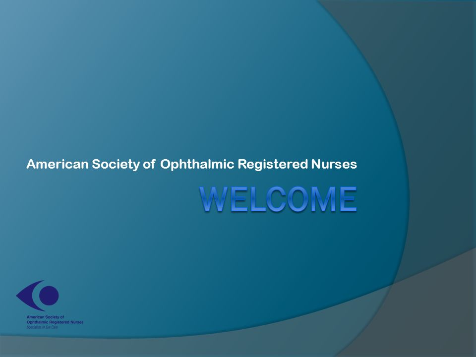 American Society of Ophthalmic Registered Nurses