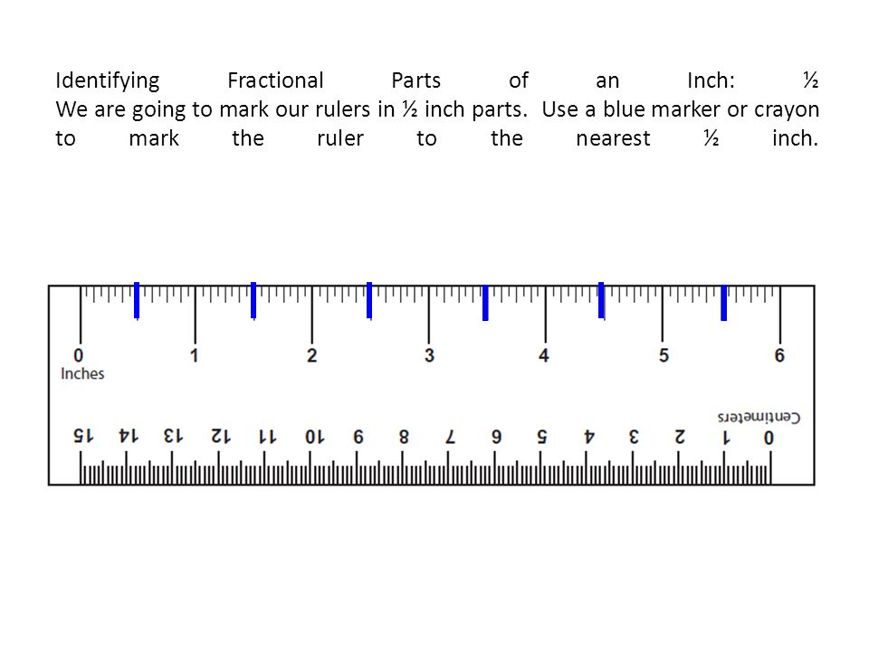 Below Is An Fcat 2 0 Ruler Measure Starting From The Edge Of The Ruler Rather Than At Zero In Real Life Rulers May Vary And The Measurement May Start Ppt Download