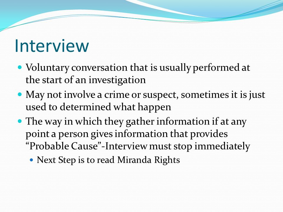 semi structured interview