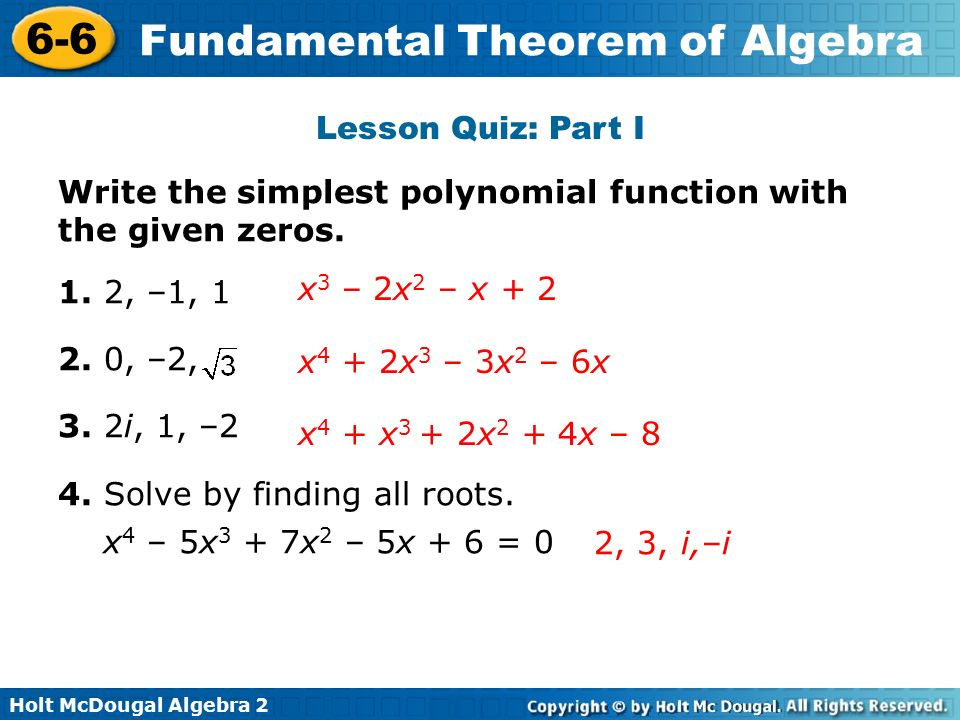 how to find a polynomial function with given zeros with imaginary numbers