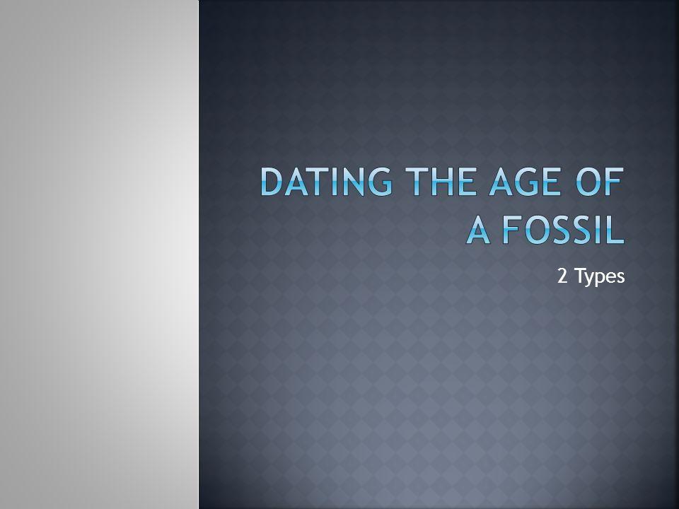 2 typer absolutt dating