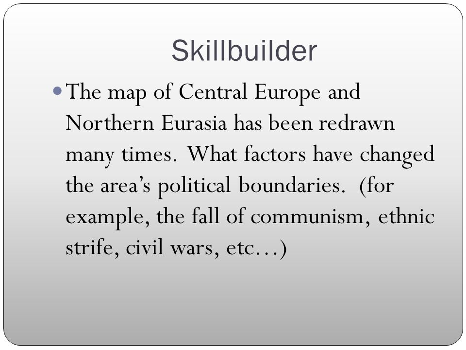 Chapter 18 Introduction and Overview Central Europe and Northern ...