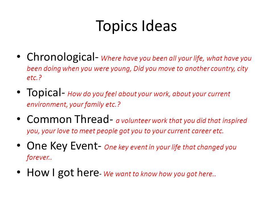 topical speech topics