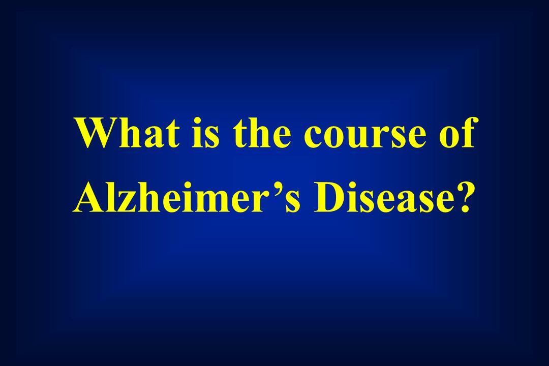 Alzheimer's Disease: Advances and Hope Trey Sunderland, M D