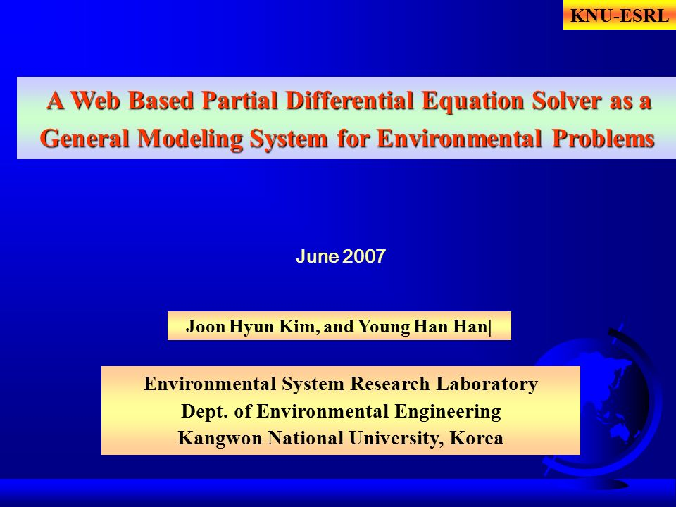 A Web Based Partial Differential Equation Solver as a General