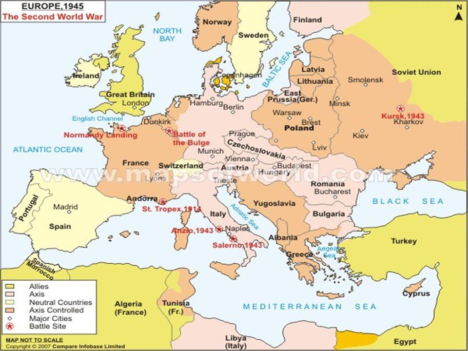World War Ii Europe Ppt Video Online Download