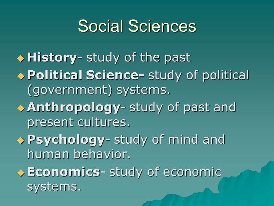 relationship between sociology and other sciences